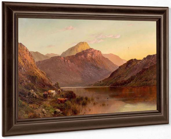 Ben An Nb Scotland by Alfred De Breanski