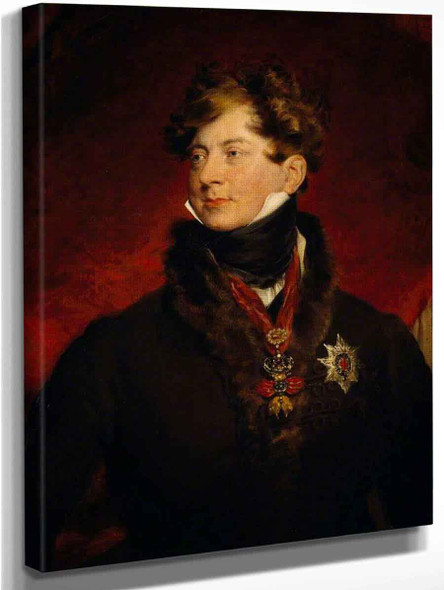 George Iv  Reigned As Regent  And As King  By Sir Thomas Lawrence