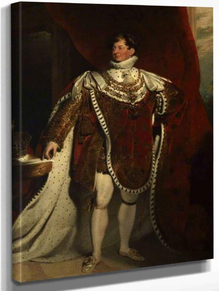 George Iv2 By Sir Thomas Lawrence