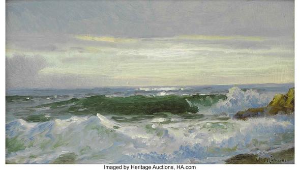Crashing Surf by William Trost Richards