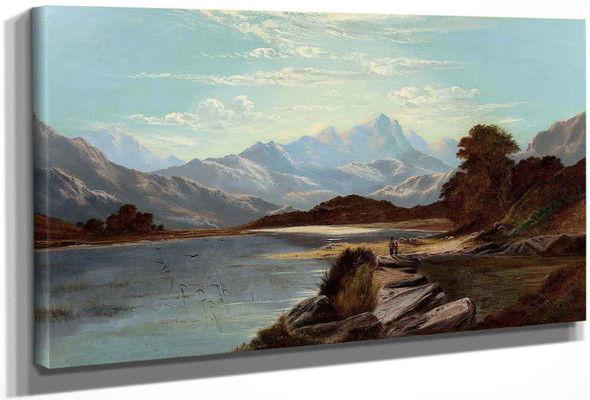 Devoke Water Cumberland 1886 by Alfred De Breanski