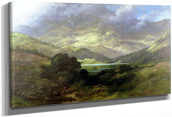 Gustave Dore Scottish Highlands Google Art Project by Gustave Dore