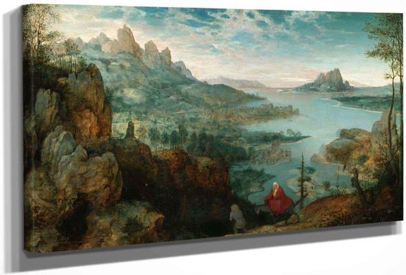 Landscape With The Flight Into Egypt by Pieter Bruegel The Elder