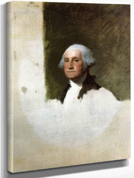 George Washington4 By Gilbert Stuart