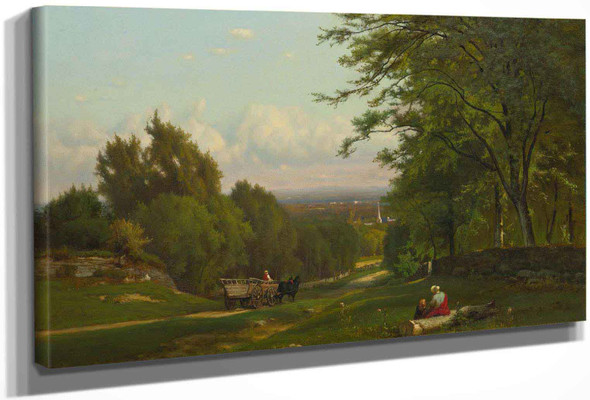 Near Leeds New York by George Inness