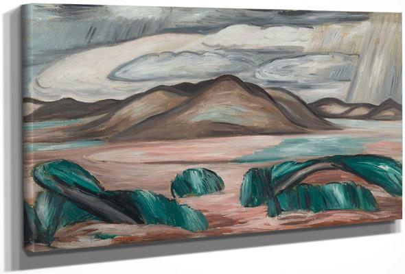 New Mexico Recollection No 8 by Marsden Hartley