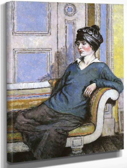Geraldine Fitzgerald By Mainie Jellett