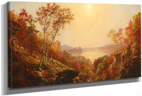 The Greenwood Lake by Jasper Francis Cropsey