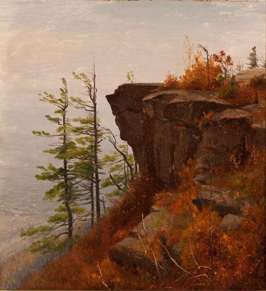A Ledge In The Catskills by Sanford Robinson Gifford