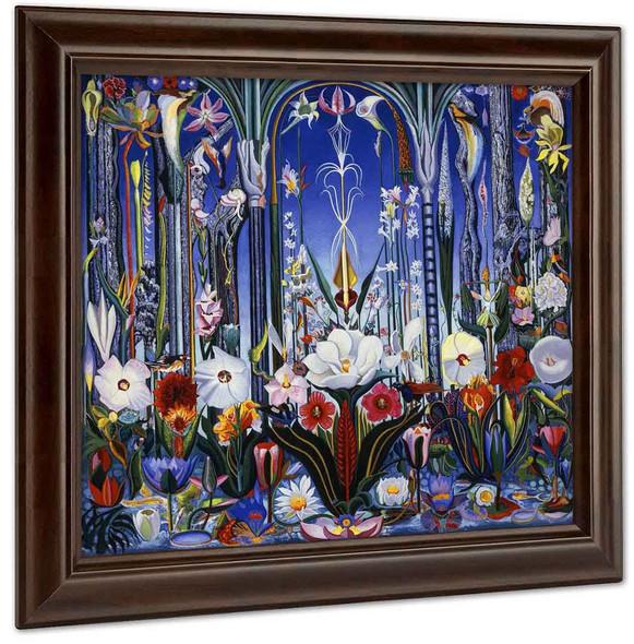 Flowers Italy By Joseph Stella by Joseph Stella