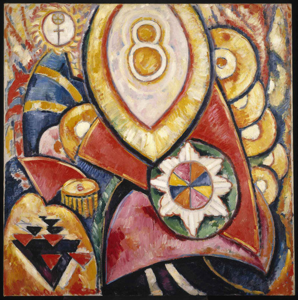 Painting No 48 by Marsden Hartley