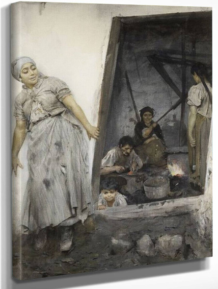 Gipsy Forge By Anders Zorn