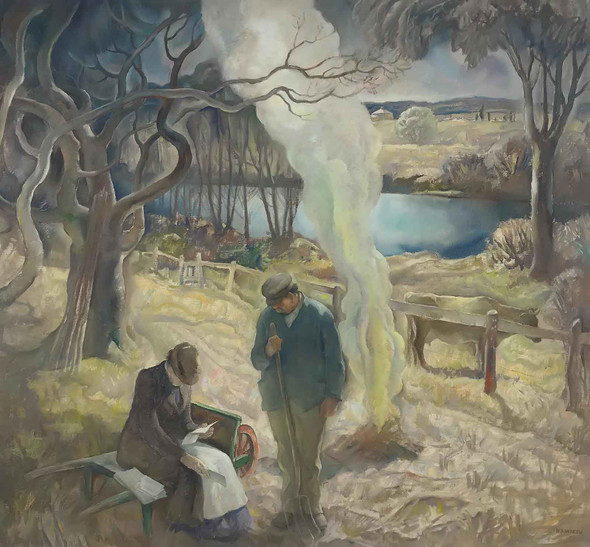 Spring by Nc Wyeth
