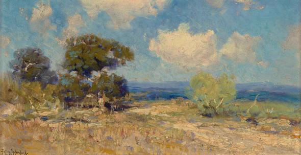 A Sunny Morning Sw Texas 1910 by Julian Onderdonk