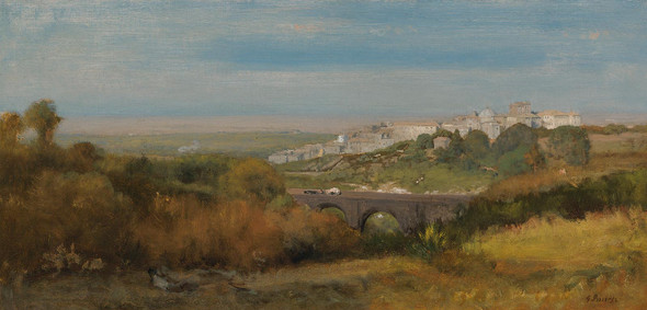 Albano Italy (The Roman Campagna) 2 by George Inness
