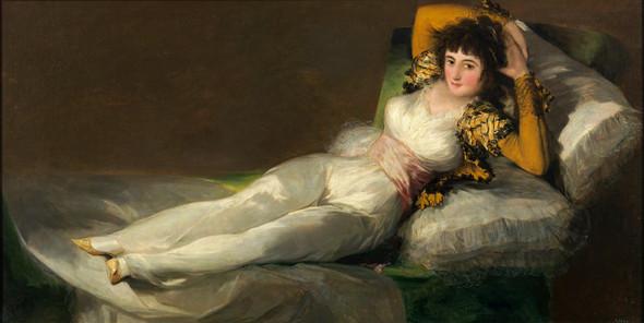 La Maja Vestida by Francisco De Goya
