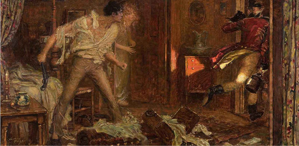 The Intruder by Norman Mills Price
