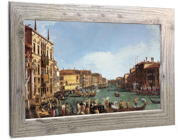 A Regatta On The Grand Canal Canaletto