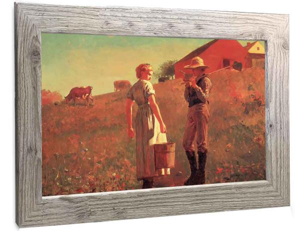 A Temperance Meeting Winslow Homer