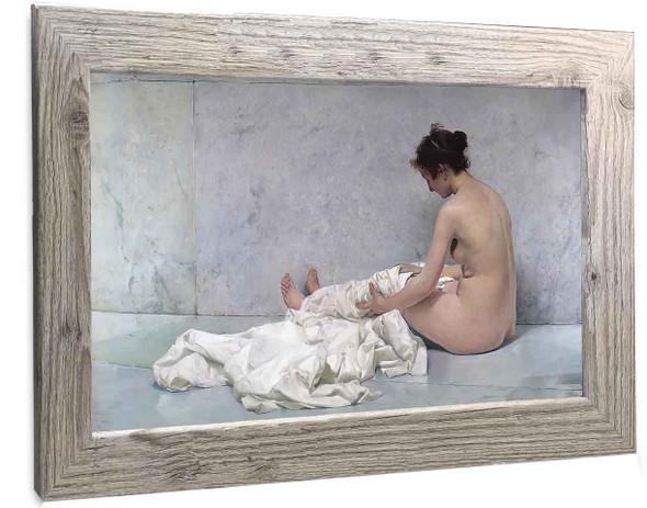 After The Bath (2) Joaquin Sorolla