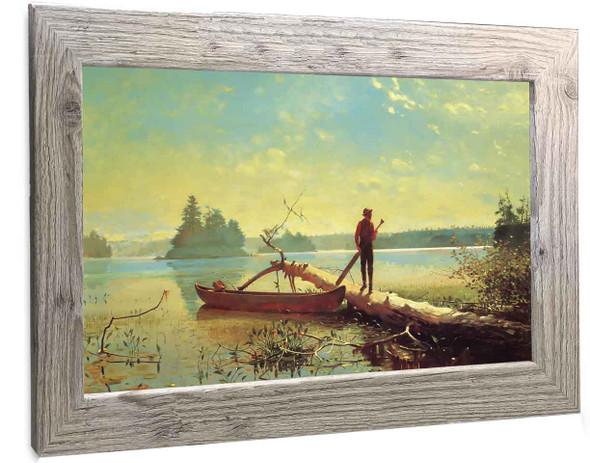 An Adirondack Lake Winslow Homer