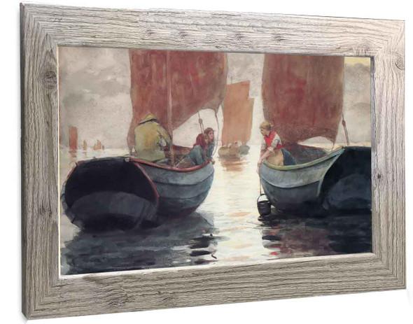 An Afterglow Winslow Homer
