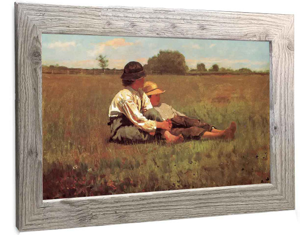 Boys In Pasture Winslow Homer