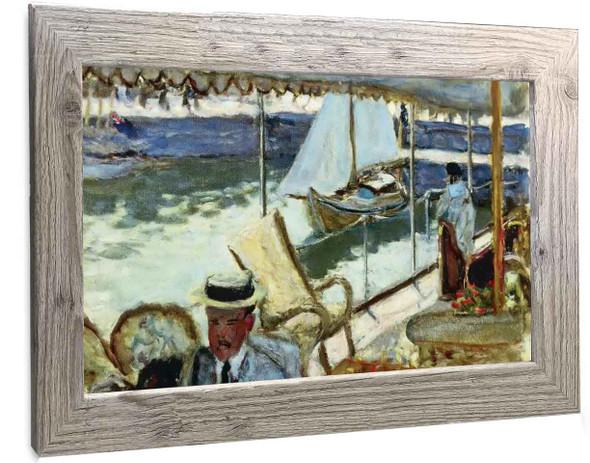 By Yacht Pierre Bonnard