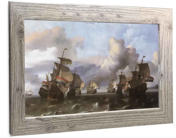 Dutch Squadron From The East India Company Johannes Vermeer