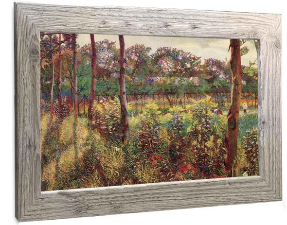 Lombard Countryside Umberto Boccioni