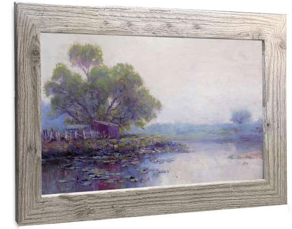 Morning On The Pond Julian Onderdonk