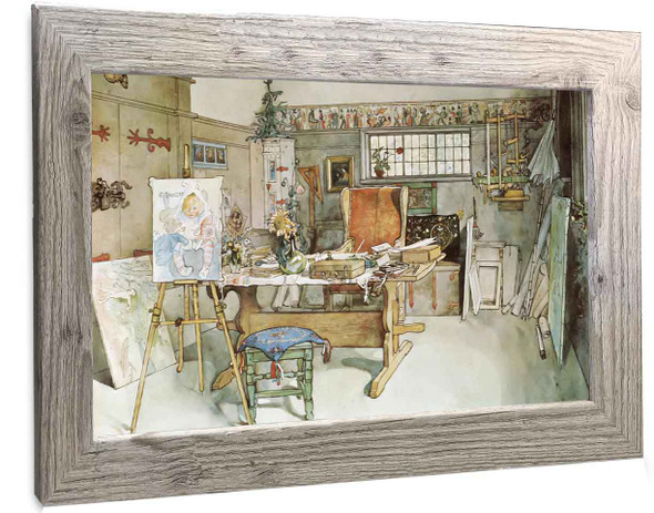 One Half Of The Studio Carl Larsson