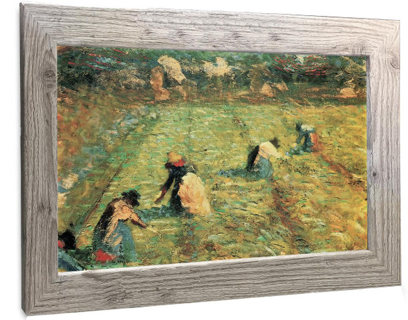 Peasants At Work Umberto Boccioni