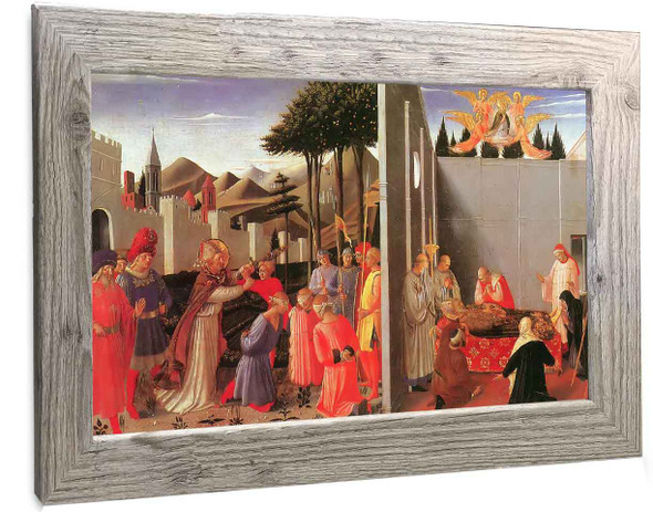 Perugia Triptych Nicholas Frees The Innocent His Death Fra Angelico2