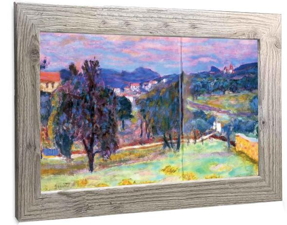 Purple Landscape Pierre Bonnard