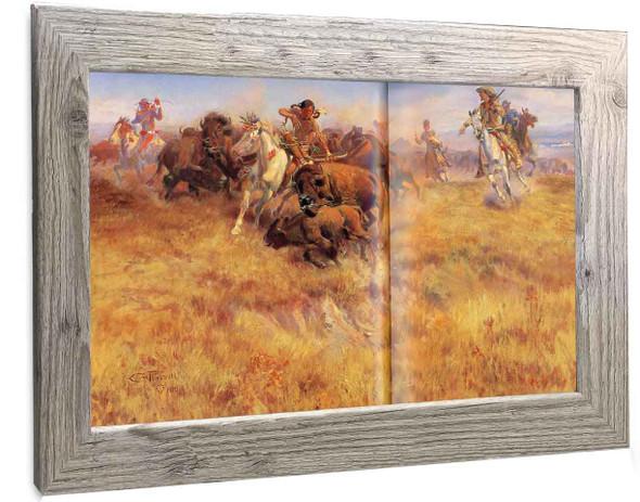 Running Buffalo Peter Hassrick