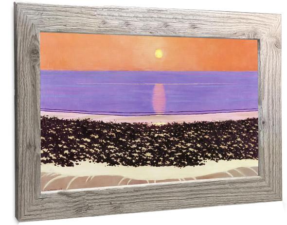 Sunset Villerville Felix Valletton
