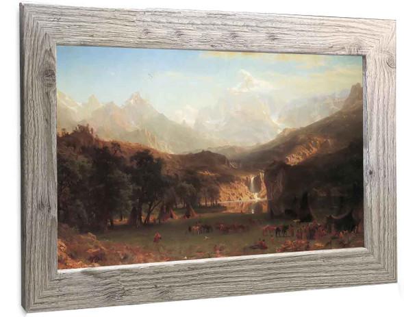 The Rocky Mountains Albert Bierstadt