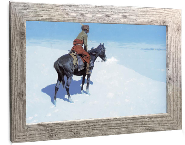 The Scout Friends Or Foes Frederic Remington