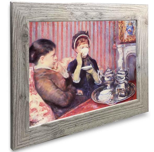 A Cup Of Tea Mary Cassatt