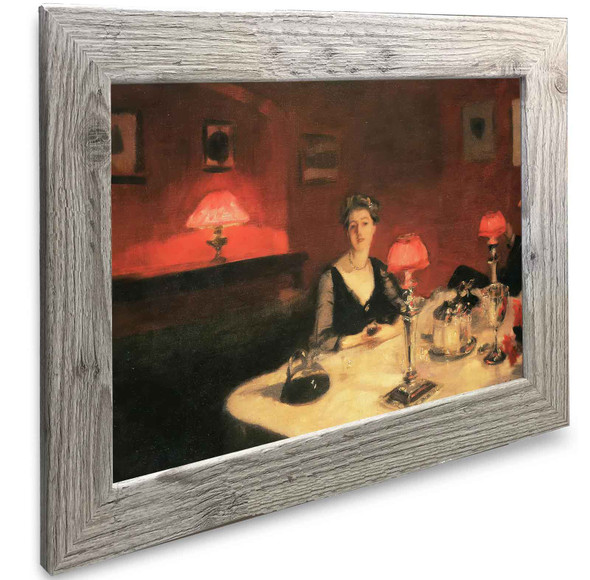 A Dinner Table At Night The Glass Of Claret John Singer Sargent