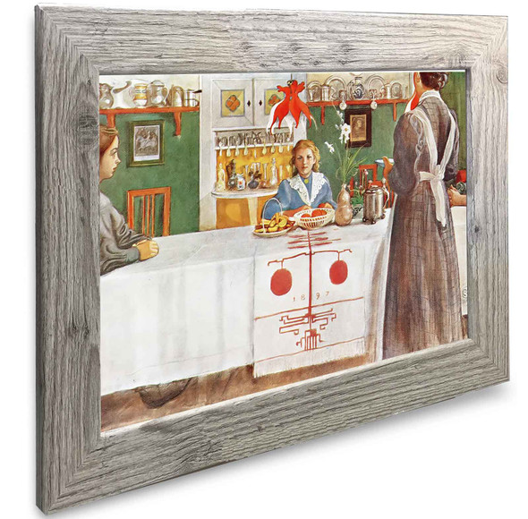 A Friend From The City Carl Larsson