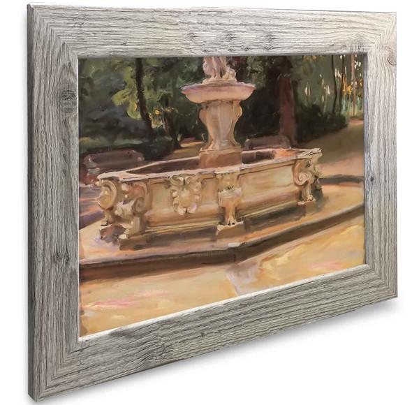 A Marble Fountain At Aranjuez Spain John Singer Sargent