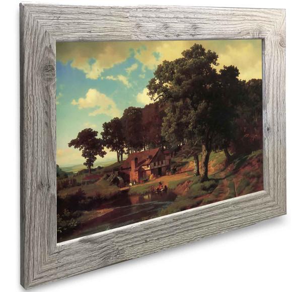 A Rustic Mill Albert Bierstadt