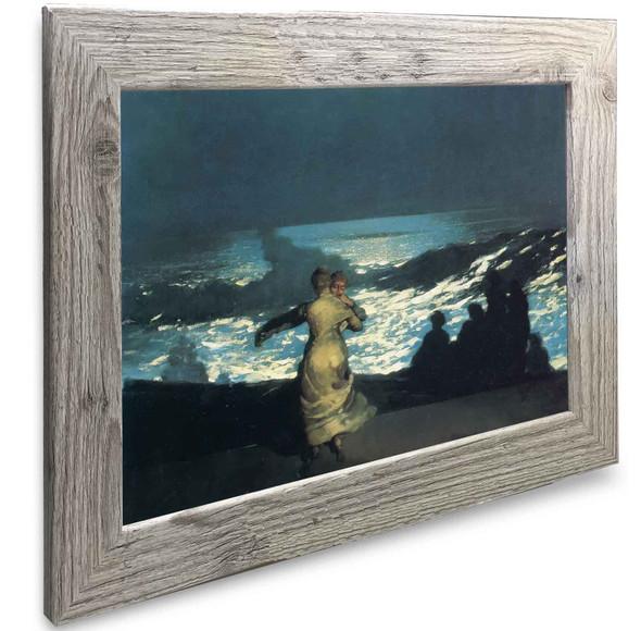 A Summer Night Winslow Homer