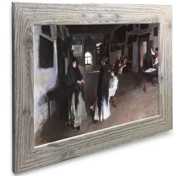 A Venetian Interior John Singer Sargent