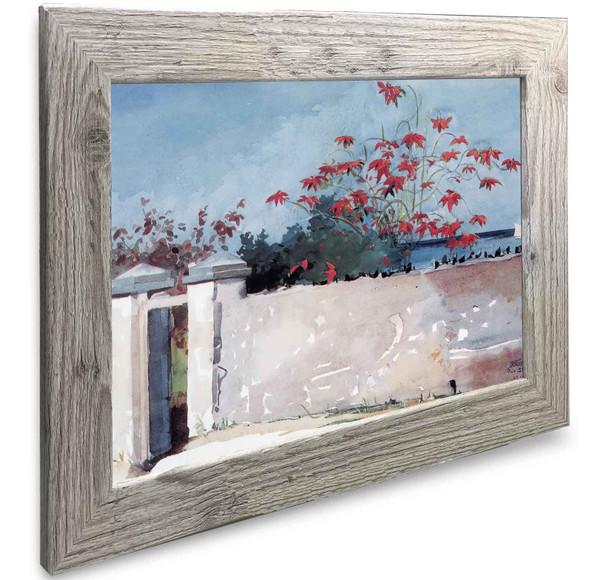 A Wall Nassau Winslow Homer