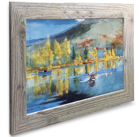 An October Day Winslow Homer