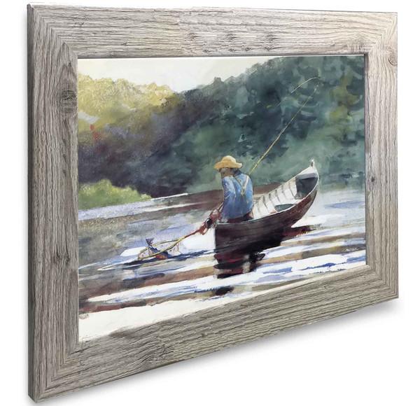 Boy Fishing Winslow Homer