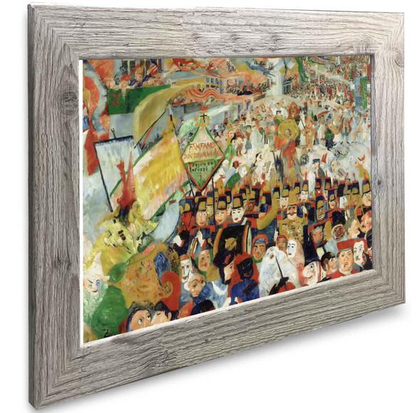 Christs Entry Into Brussels (1) James Ensor